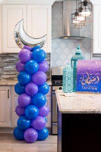 Balloon column Eid Party Ideas for Children
