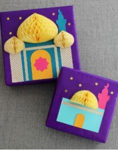 Eid gift wrap Children's party ideas