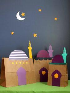 Eid Party Ideas Mosque Favour Bags
