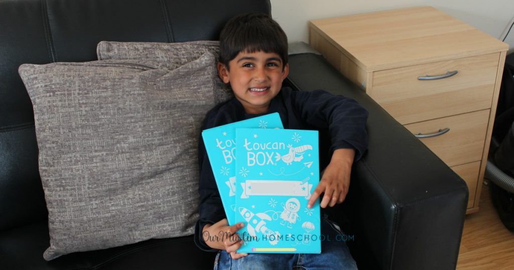 Toucan box review and unboxing video pirate themed craft