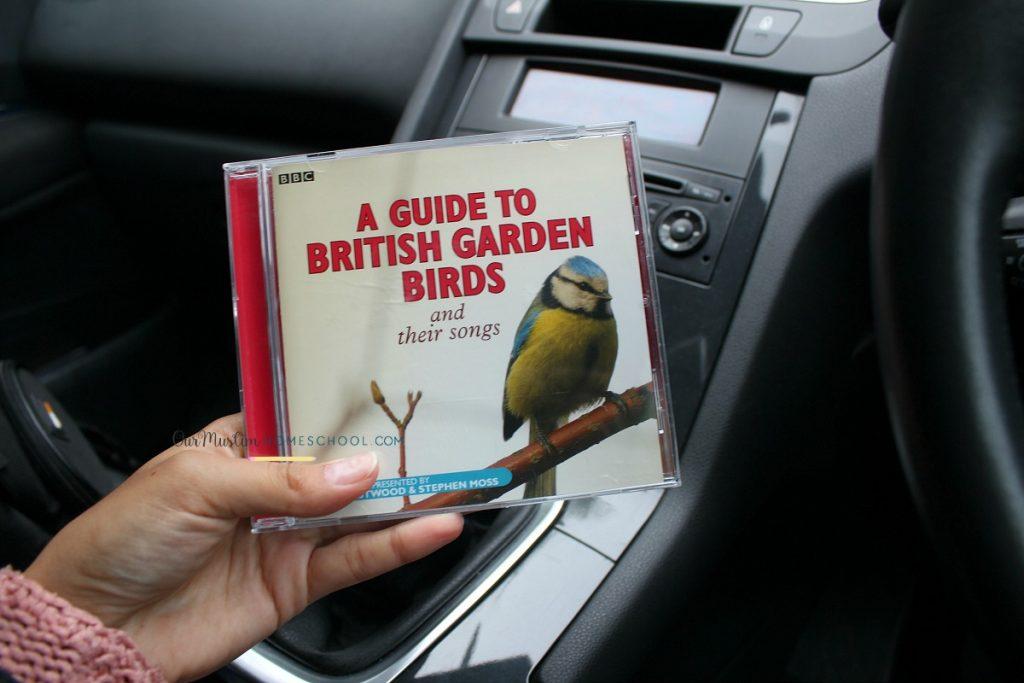 british garden bird song cd