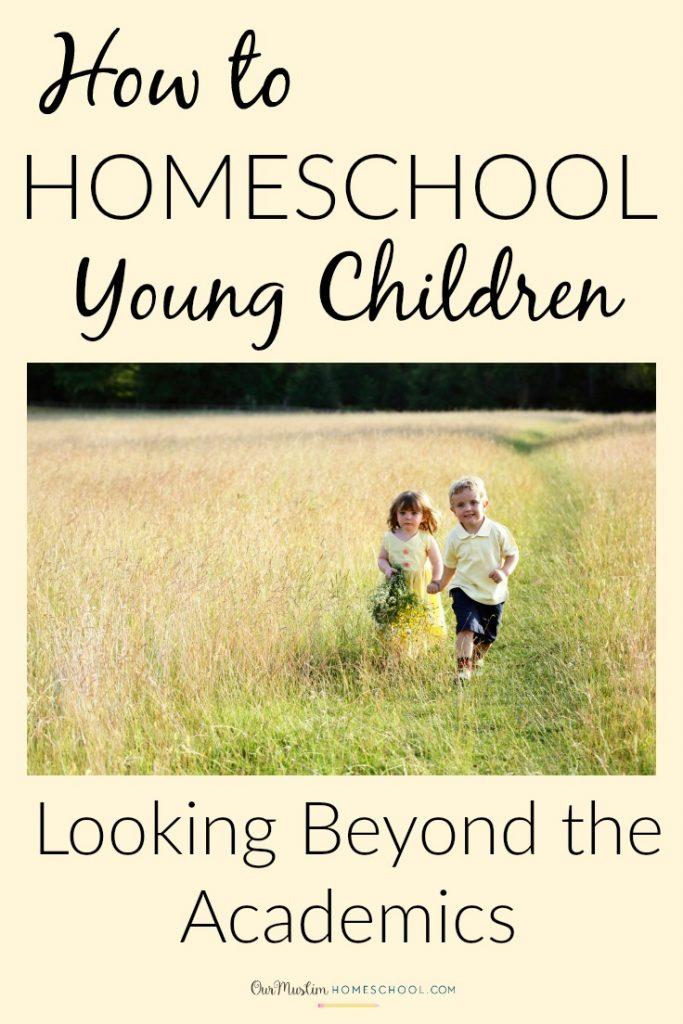 homeschoo young children