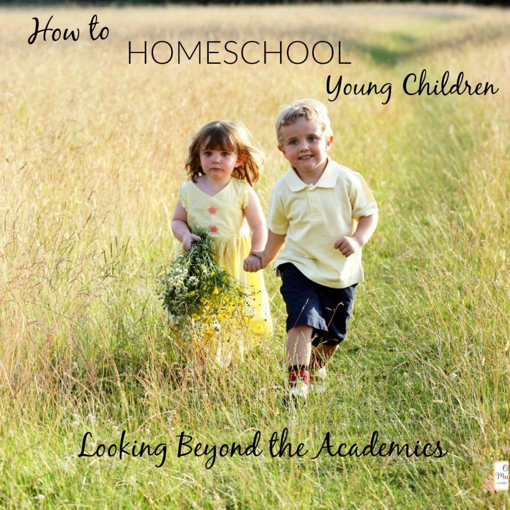 how to homeschool young children