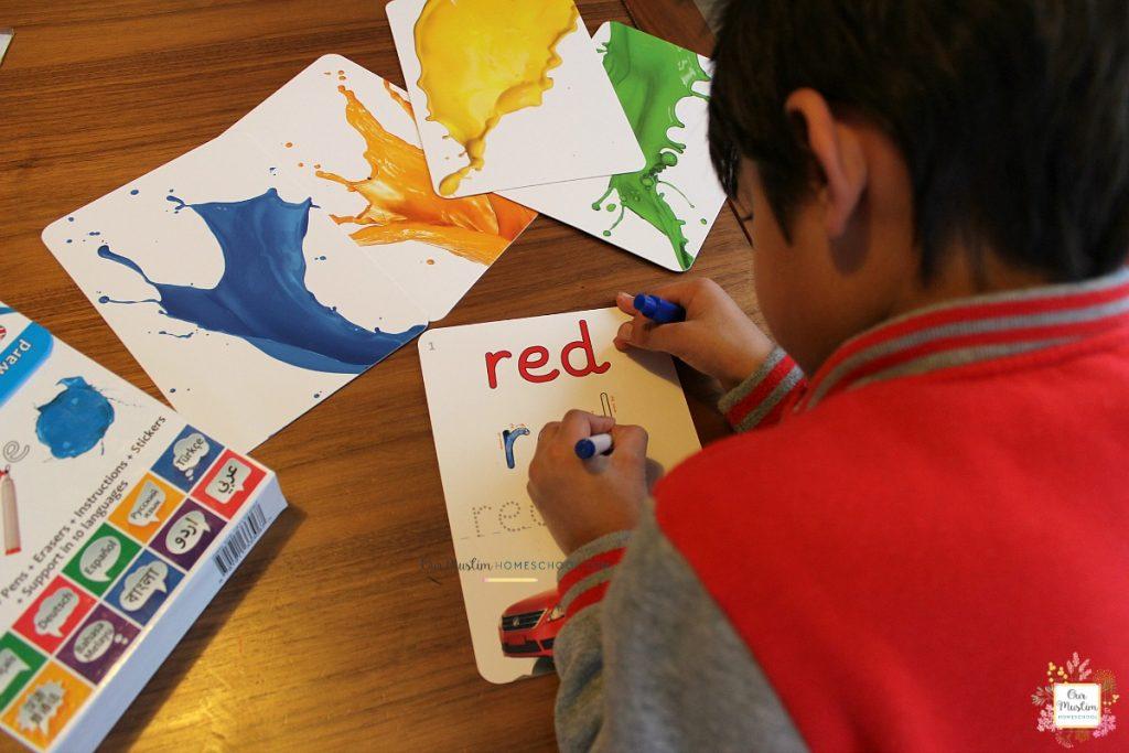 homeschooling young children