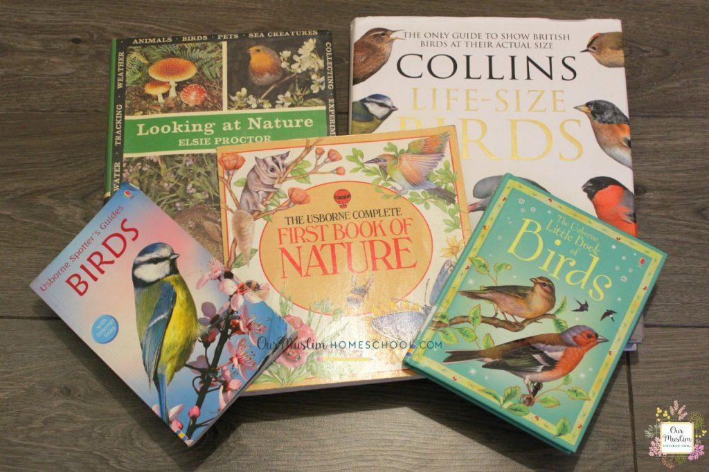 Bird reference books