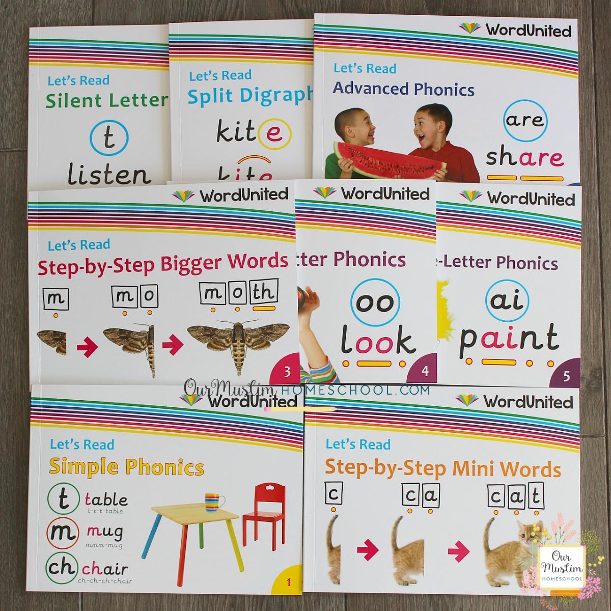 Phonics books by WordUnited
