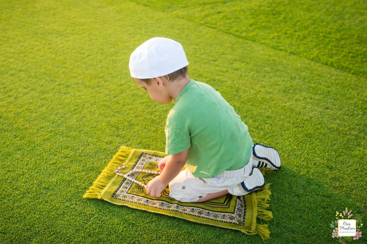 Easy Ramadan Activities for Children Prayer Corner