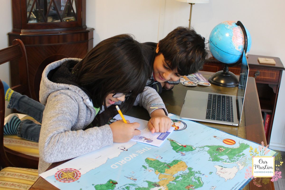 Homeschool World Geography with Archibold Clutterbuck