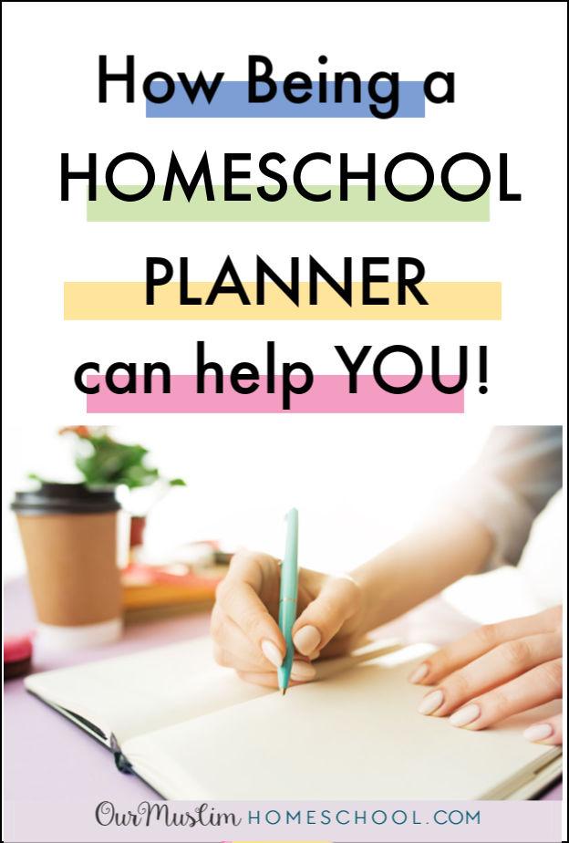 Be a Homeschool Planner!
