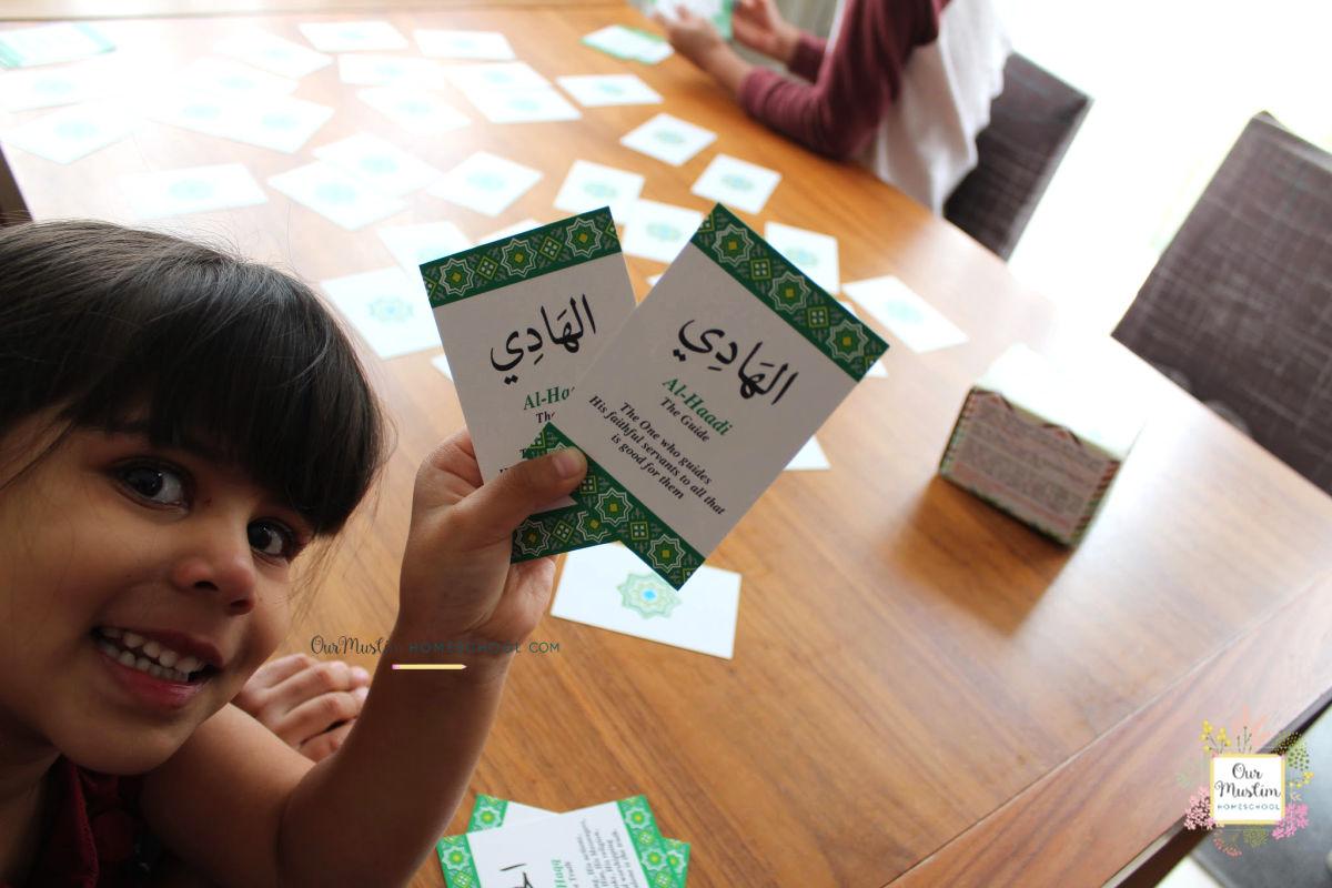 Teach children the 99 names of Allah through Play!