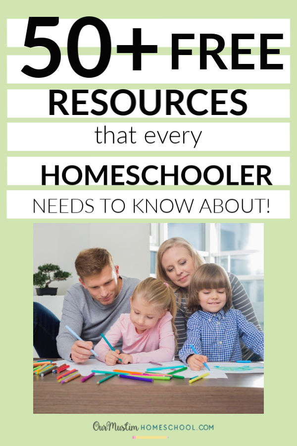 50+ FREE Homeschool Resources that every homeschooler needs to know about!