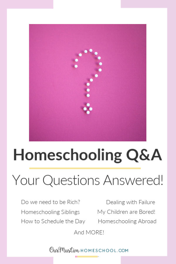 Homeschooling Children Question and Answer Session