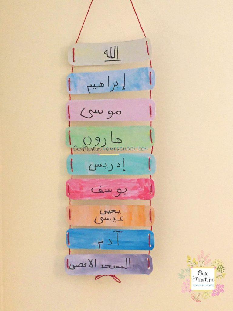 Islamic calendar: Rajab and Isra wal Miraj, The Night Journey Craft