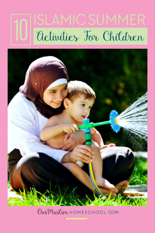 Islam for kids: Islamic summer activities for children