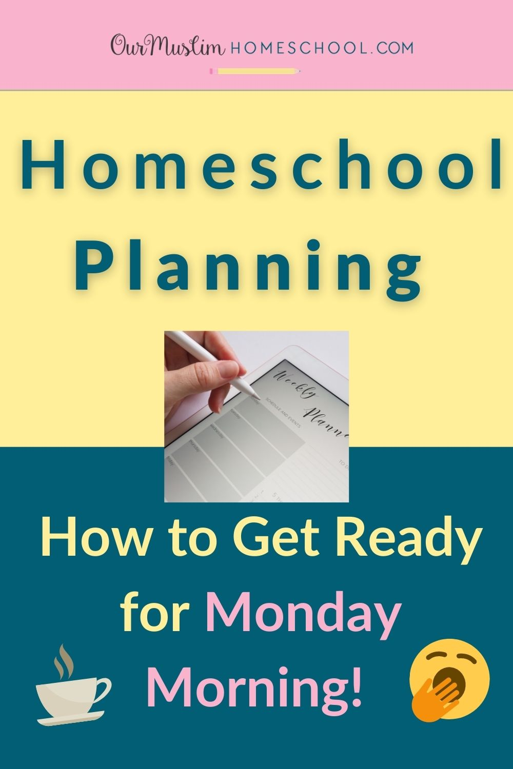 Homeschool Planning: How to Get Ready for Monday morning!