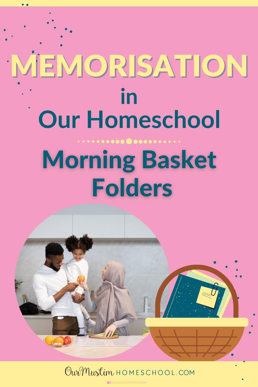 Memorisation Homeschool