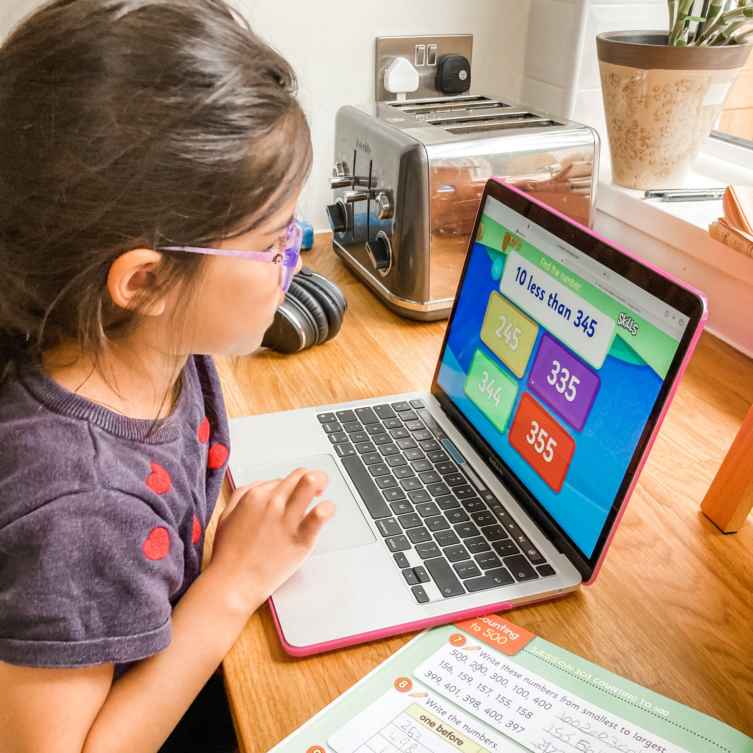 Maths for year 2 - Homeschool maths online programme