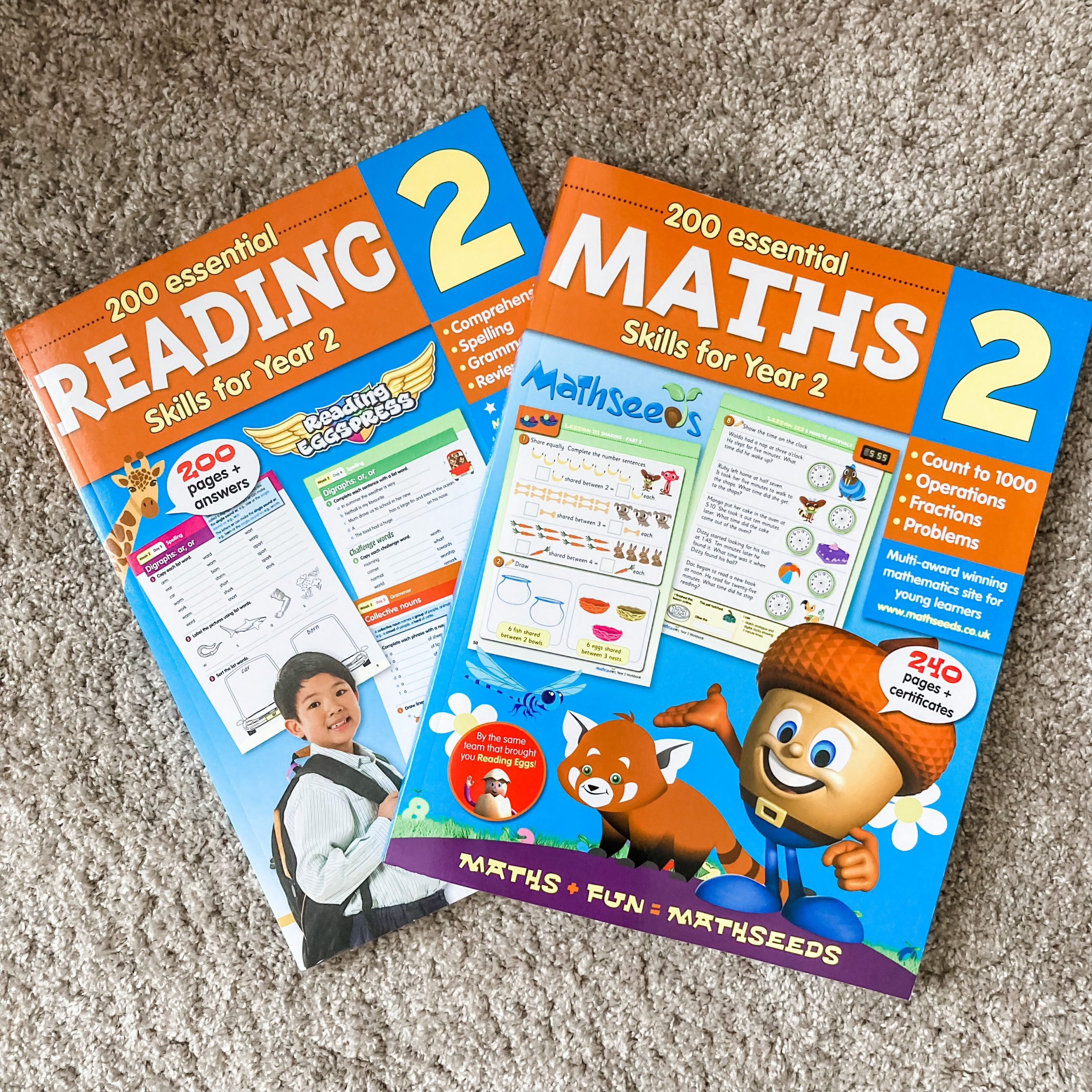 Maths for year 2