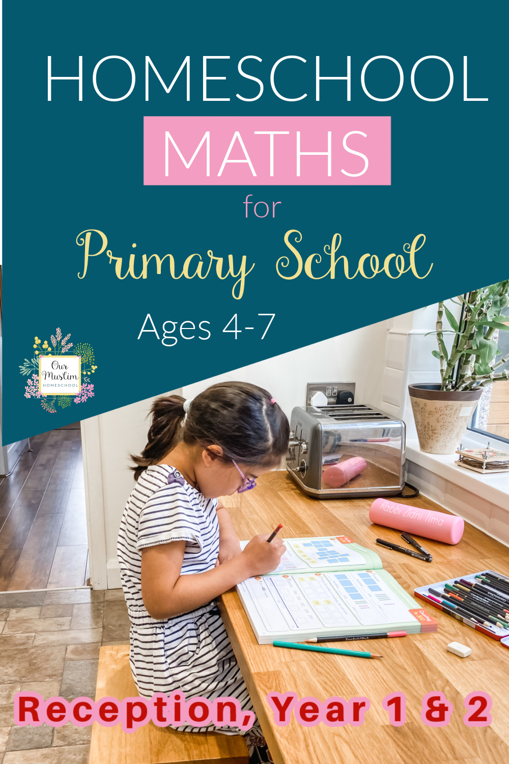 Maths for year 2, 1, and reception - Mathseeds review Homeschool UK
